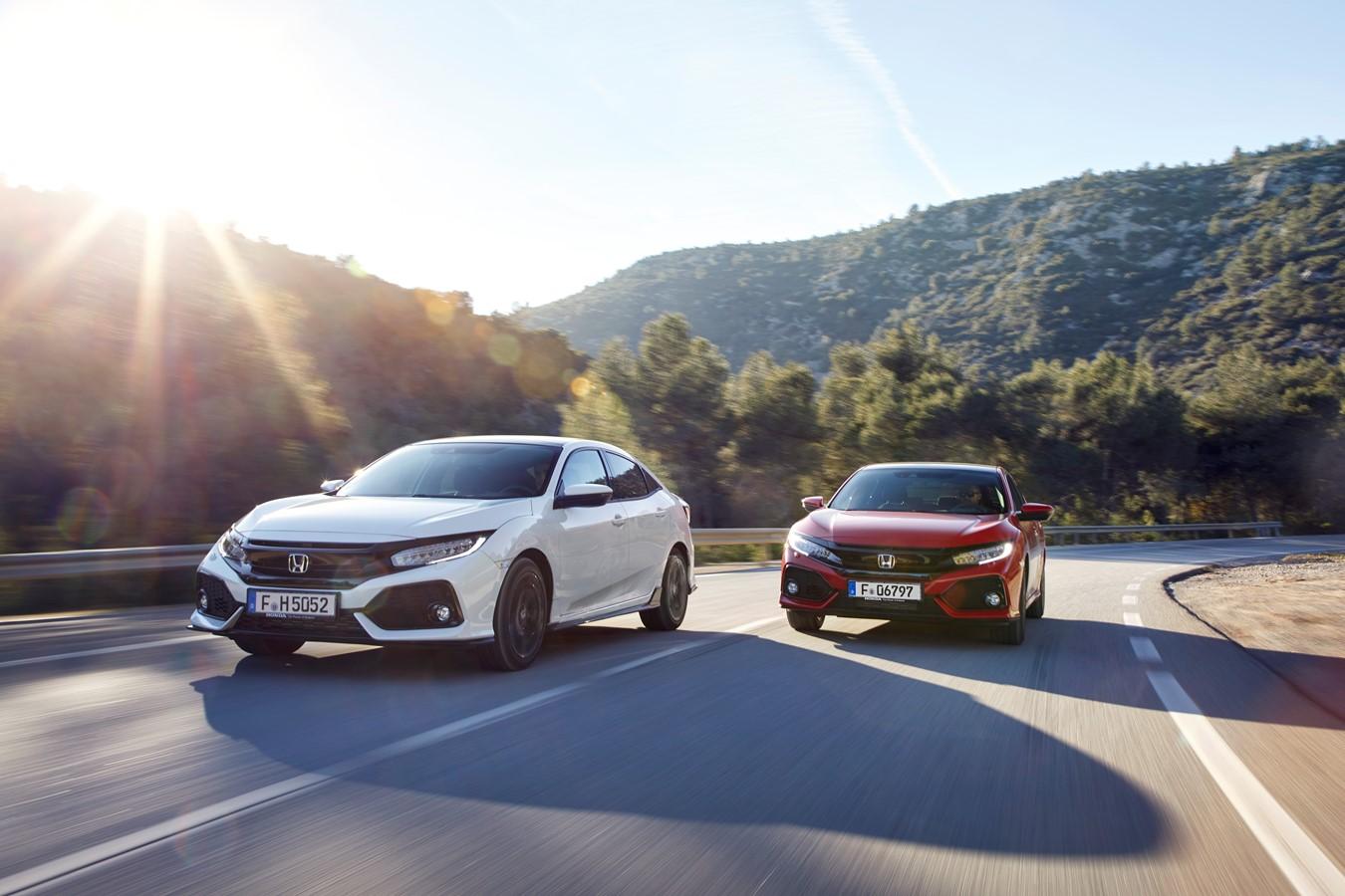 HONDA HR-V dal 2015 IN GOMMA-TAPPETINI PNEUMATICI profilo-Design nero