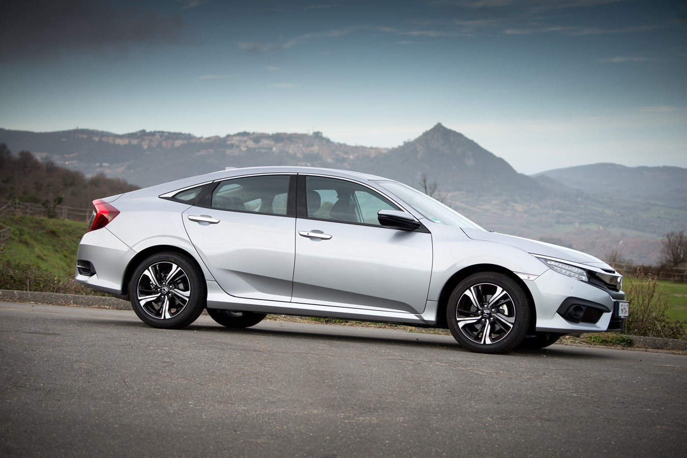 Honda Civic 4 Door B Roll