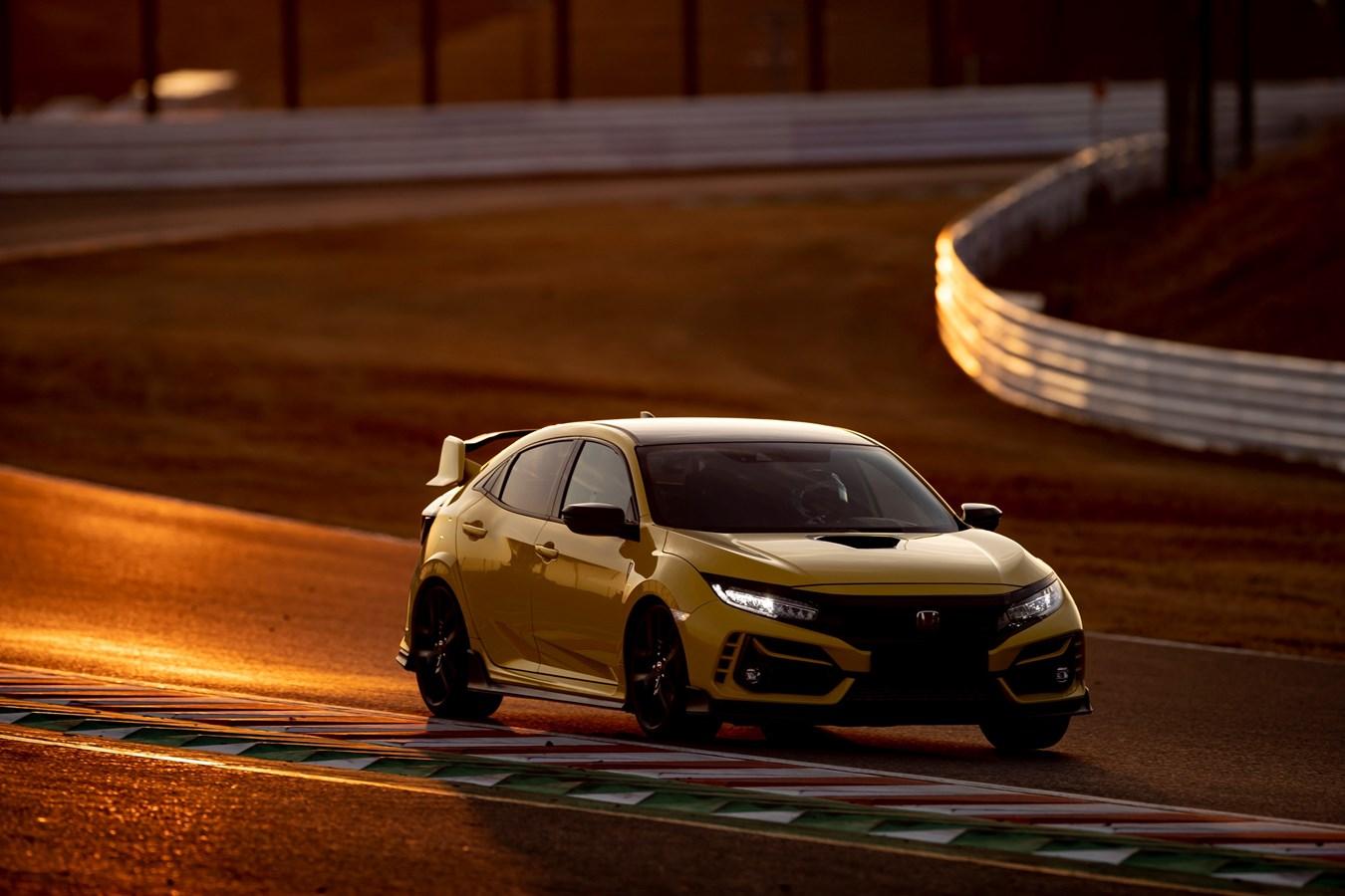 Honda Civic Type R Limited Edition estabelece novo recorde de volta mais rápida no emblemático Circuito de Suzuka