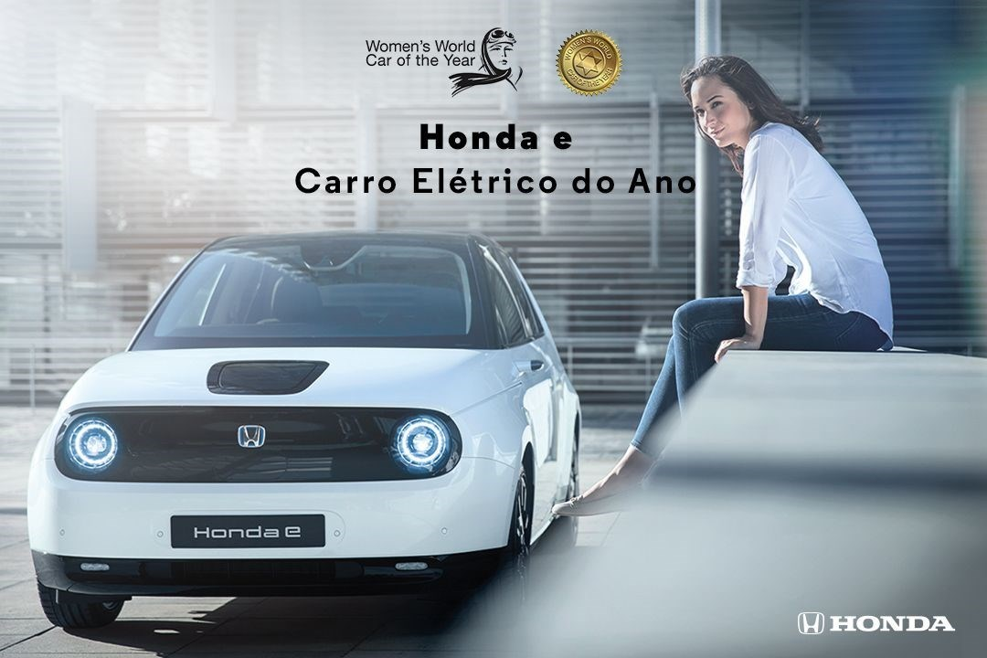Honda e é o Elétrico do Ano do Women's World Car of the Year 2021 Awards