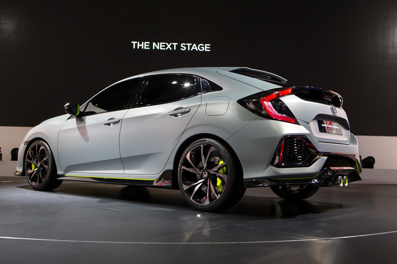 Honda Civic Hatchback Prototype at Geneva Motor Show 2016