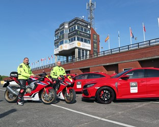 Honda UK to provide Official Cars and Motorcycles for Isle of Man TT