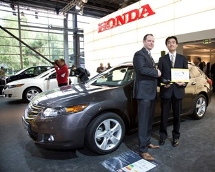 Honda's CMBS Technology receives Euro NCAP Advanced Award