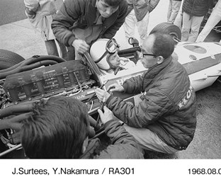 Honda's first F1 Chapter