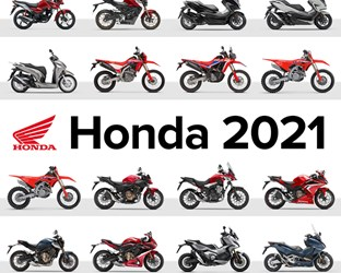 Hondas completes its comprehensive 2021 model line-up with updates to GL1800 Gold Wing and Gold Wing 'Tour'