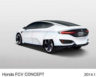 Honda Announce World Premier of All-New Fuel-Cell Vehicle, Honda FCV Concept