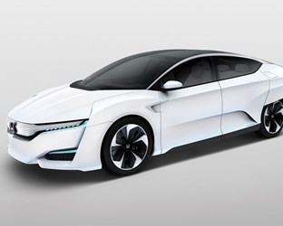 Honda FCV Concept to Make North American Debut at 2015 North American International Auto Show
