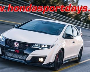 Honda Sport Days au Castellet: 20 et 21 août 2016.  Mise à disposition de nouvelles Civic Type R pour essai. Ouvert à toutes les marques. Inscription dès maintenant!