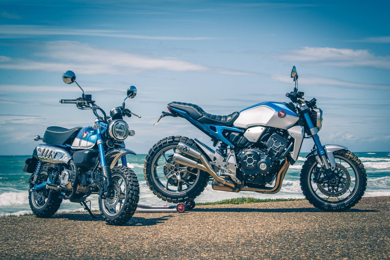 Honda Motor Europe marks 50 years of Honda Inline-Fours at Wheels & Waves