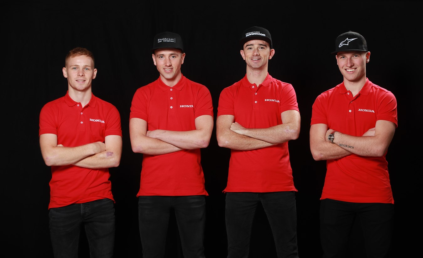 Honda Racing launch fresh campaign on the roads and the British Superbike Championship with a formidable team line-up