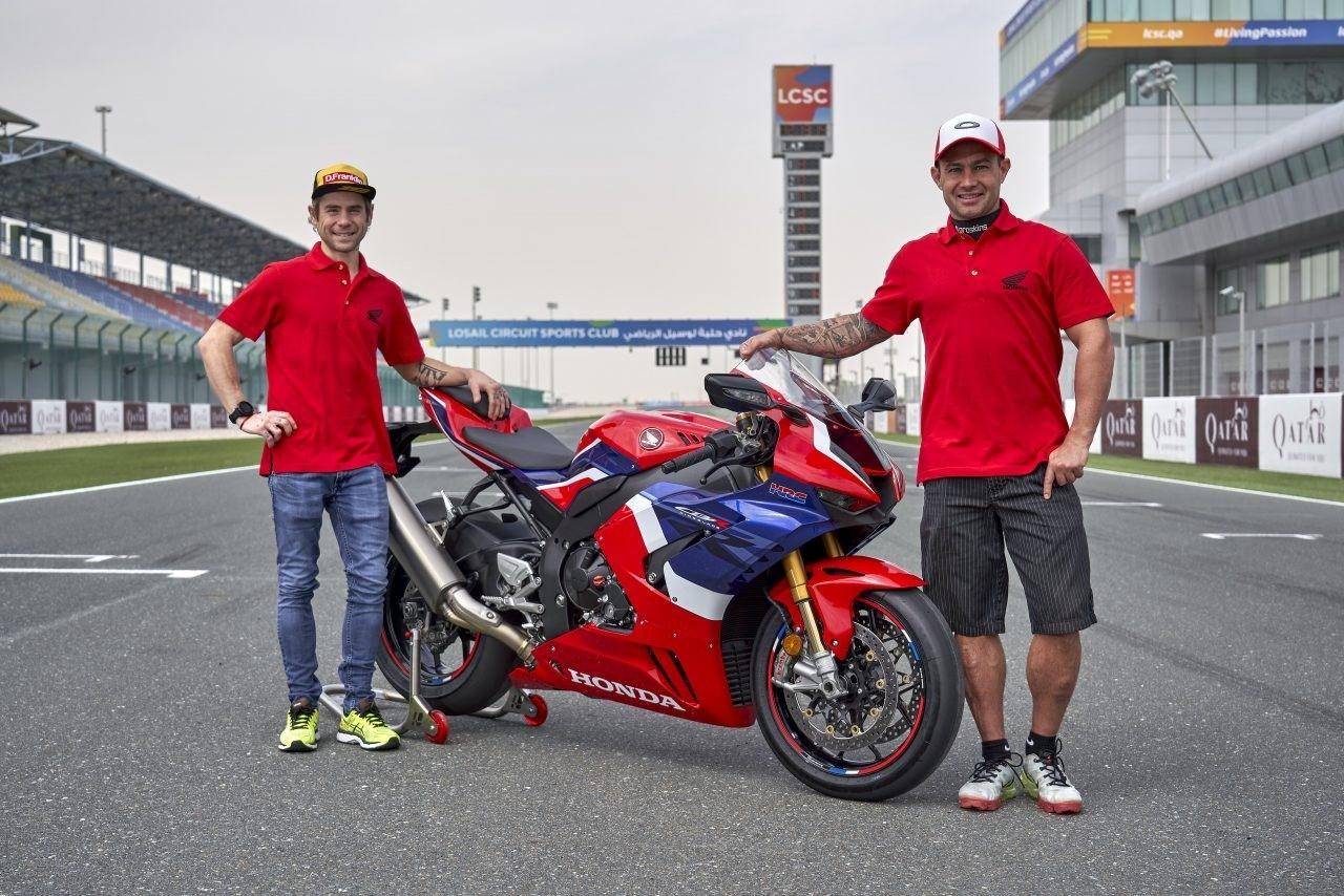 Honda S Race Ambassadors Talk Through A Lap Of Qatar Onboard The New Cbr1000rr R Fireblade Sp