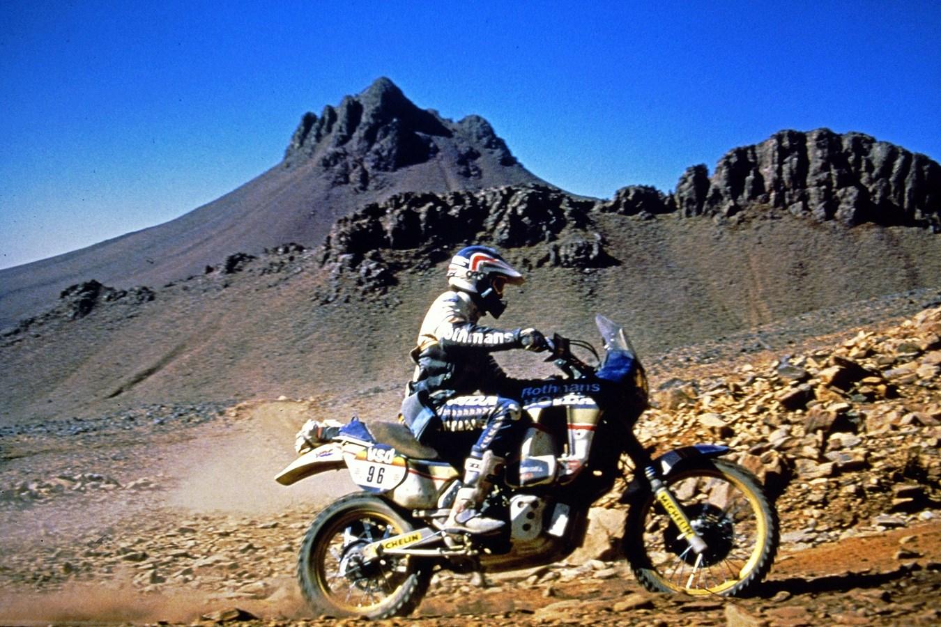 Honda - Dakar History