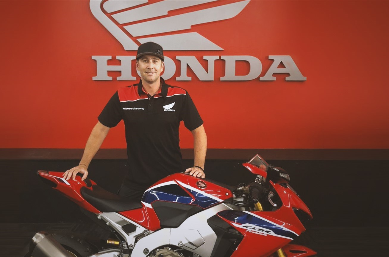 Honda reveals a refreshed line-up on the roads as David Johnson joins Ian Hutchinson