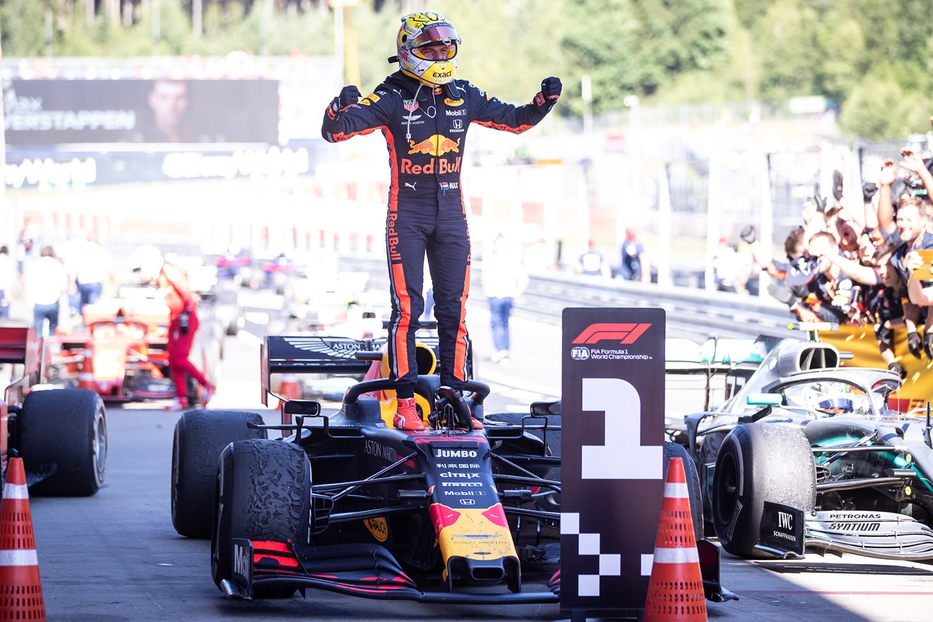 First Win for Honda F1 in the Hybrid PU Era