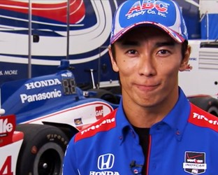 Indycar and ex-Formula 1 driver Takuma Sato hosts episode seven of Honda Racing TV