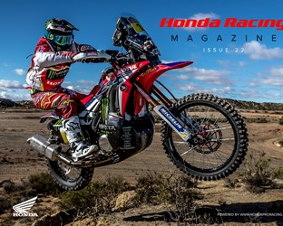 Honda Racing Magazine Issue 22: new challenges, new concepts and champions