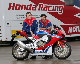 John McGuinness and Guy Martin complete Honda Racing dream team