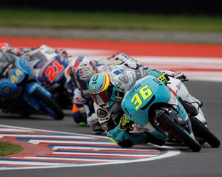 Honda riders monopolised the Moto3 podium for the second race in a row