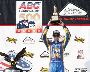 Rossi Heads Honda Effort at Pocono