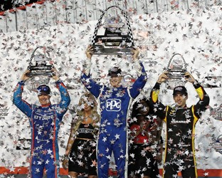 Determined Dixon Finishes Second for Honda at Gateway