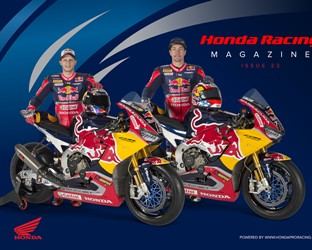 Honda Racing Magazine Issue 23: new faces, new names and the new season has started