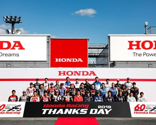 Honda feiert 60 Jahre World Championship Racing in Motegi