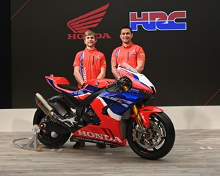 Honda presents 2020 WorldSBK Team HRC and CBR1000RR-R Fireblade SP official livery in Tokyo