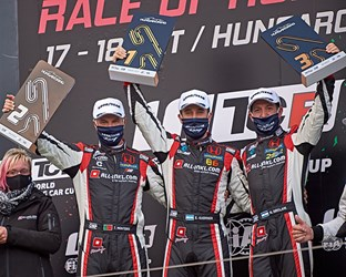 All-Honda podium in Hungary as Guerrieri wins twice